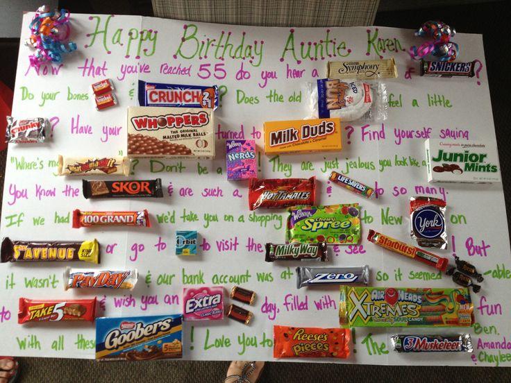 Candy bar birthday card! | Candy bar bday card ...