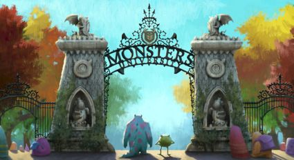 After three new clips ( Ror Fraternity, Initiation and First Contact), and the final international trailer for Pixar's Monsters University, he're a new sel