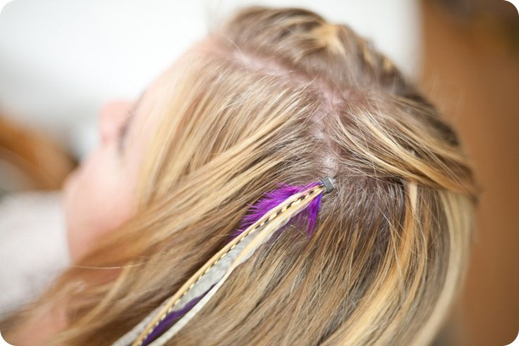 Choosing The Right Feather Hair Extensions