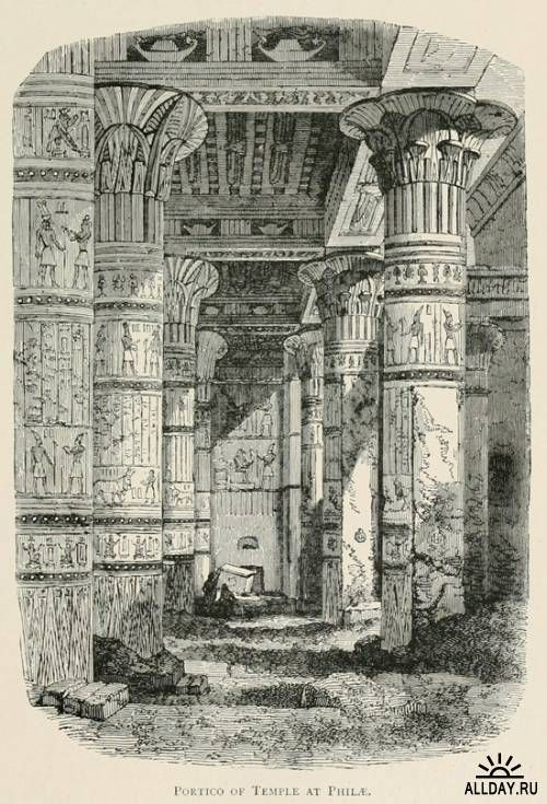 The land of the Pharaohs including a sketch of Sinai, drawn with pen and pencil (1887)