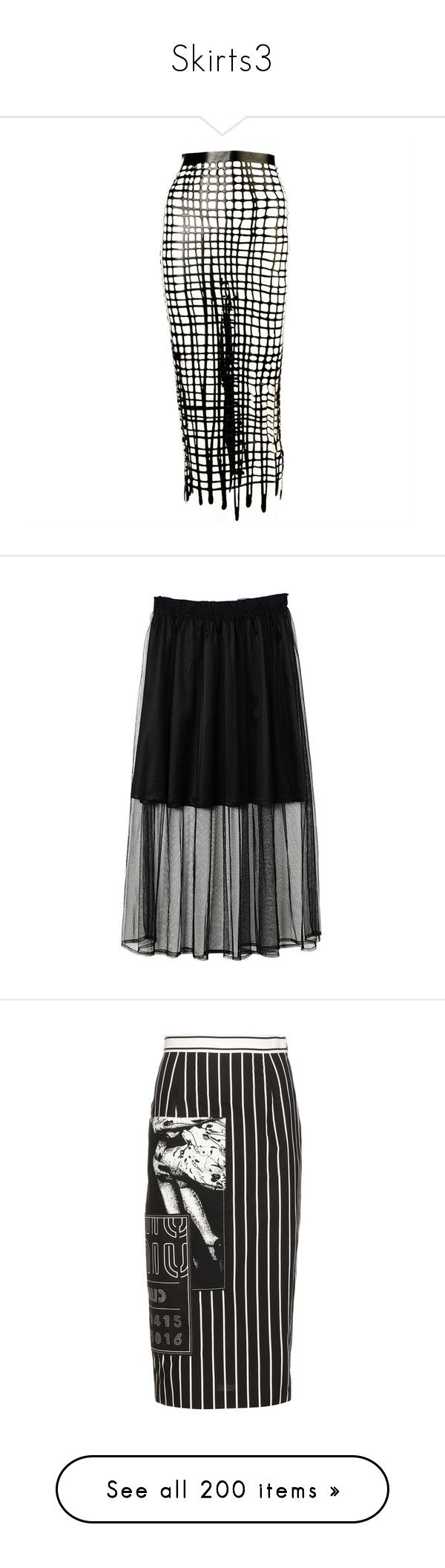 """""""Skirts3"""" by k-ura ❤ liked on Polyvore featuring skirts, tulle maxi skirt, long maxi skirts, long tulle skirt, long puffy skirts, tulle skirts, bottoms, юбки, black and embellished skirts"""