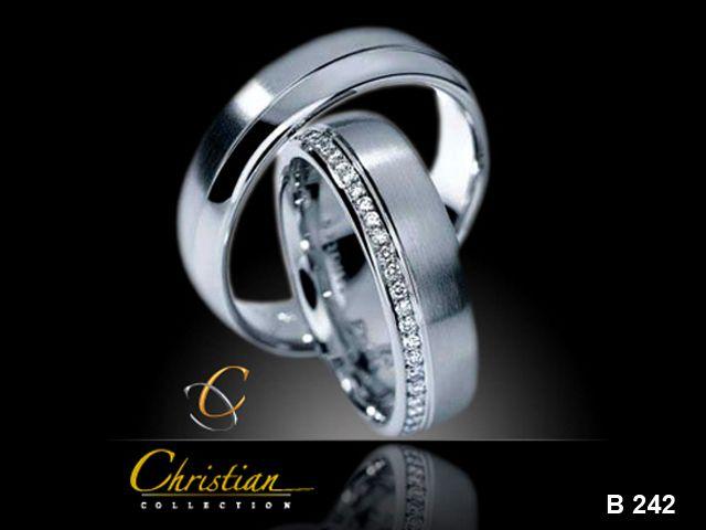 Anillos de matrimonio  Oro blanco :)