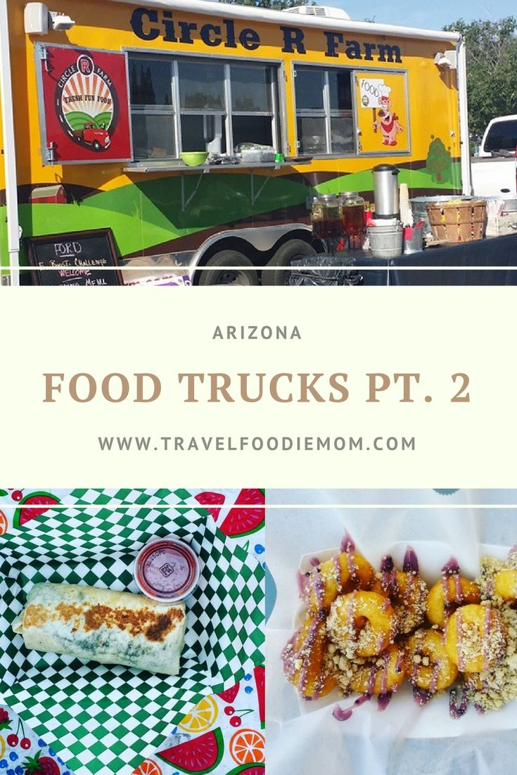 There are too many amazing food trucks and food truck festivals in the phoenix area to