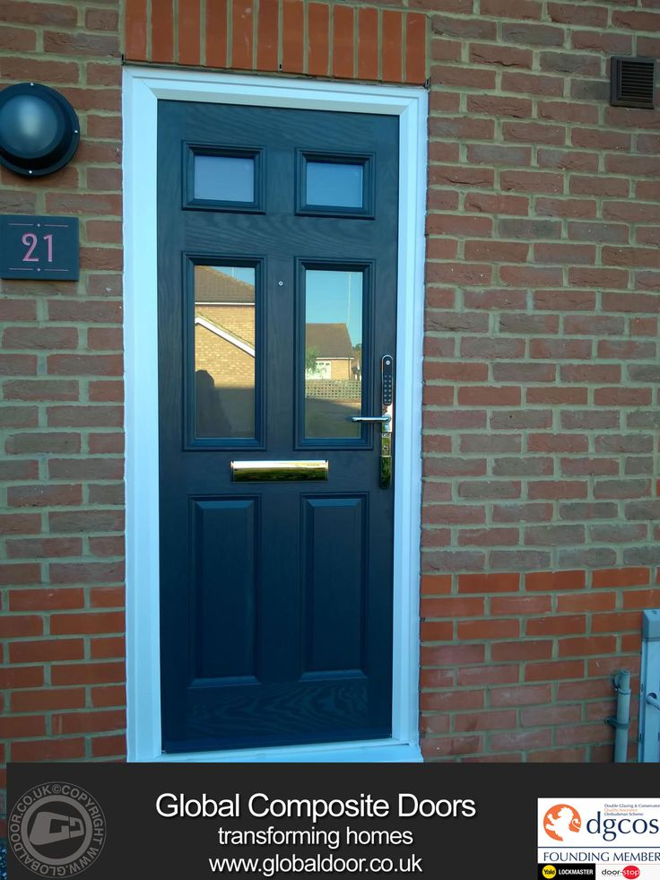 A selection of our Door Stop Door Composite Doors Installed throughout the UK. Available for both DIY or Professionally fitted and with 12 months Interest ... & 9 best Black Composite Doors images on Pinterest | Black composite ... Pezcame.Com