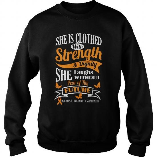 I Love Multiple Sclerosis Awareness T shirts