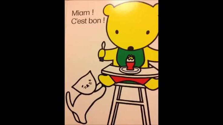 Lovely French food themed book to support learning of early vocabulary and…