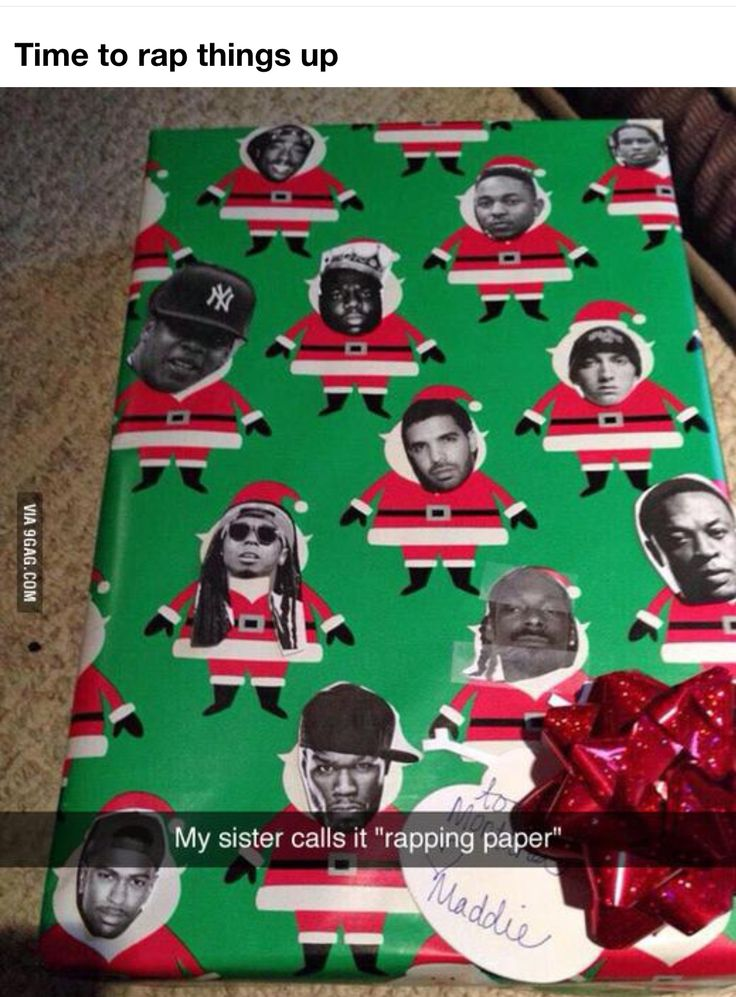 I found my wrapping paper for next Christmas