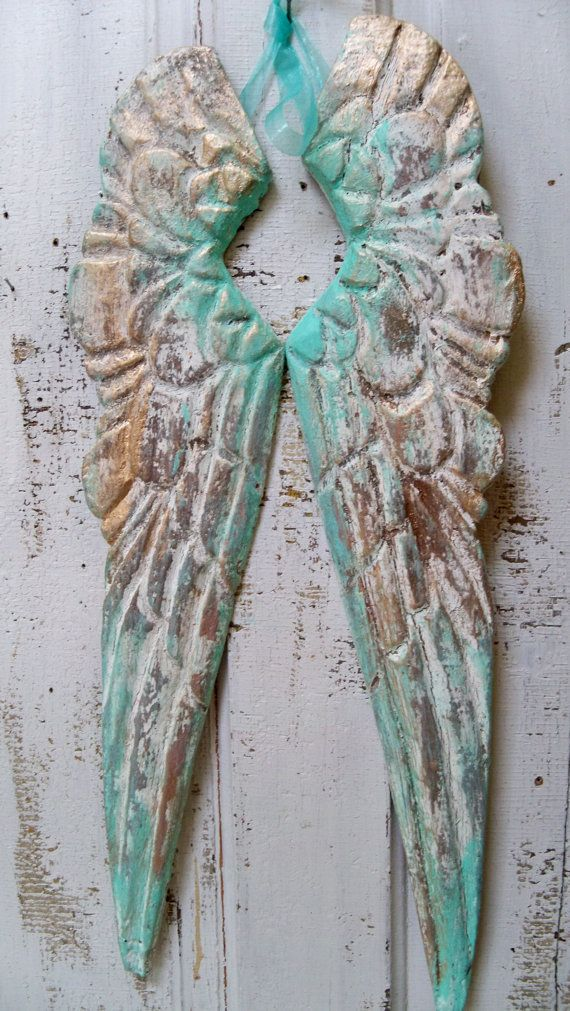 Wooden Angel Wings Wall Decor 60 best wooden angel wings images on pinterest | wooden angel