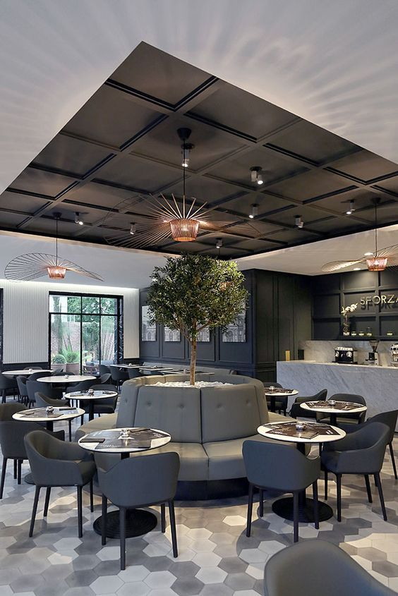 J'adore ce restaurant! | design d'intérieur, décoration, restaurant, luxe. Plus…