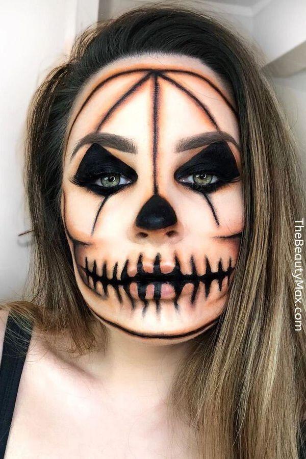 6 Scary Halloween Makeup And Diy Costume Ideas Cool Halloween Makeup Halloween Makeup Clown Halloween Makeup Looks