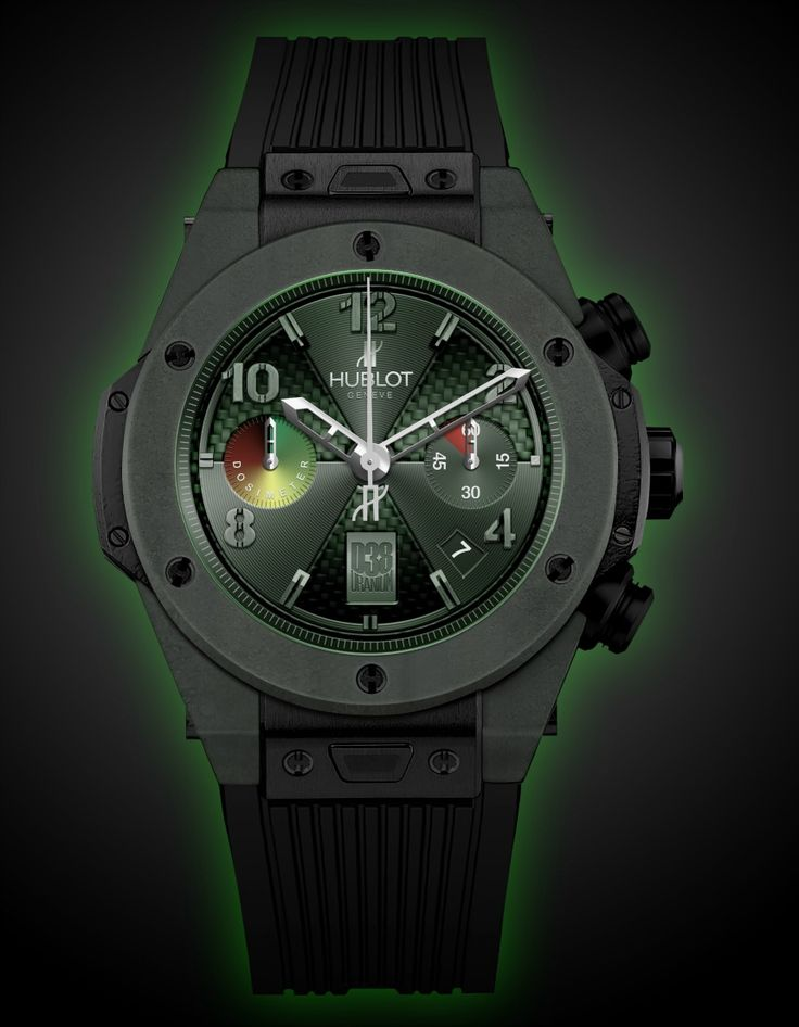 Hublot Big Bang Atomic D 38 Watch Proves Your Manliness With Radioactive Uranium   watch releases