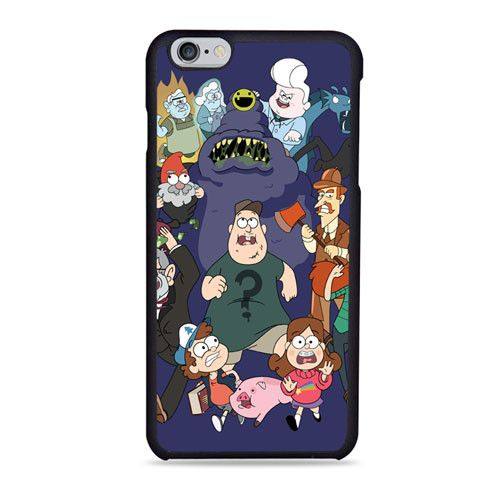 Gravity Falls Six Strange Tales iPhone 6 Case