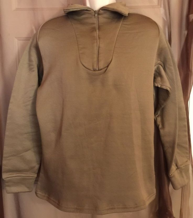 US Army Polypropylene Thermal Undershirt Medium Brown Ecwcspants | eBay