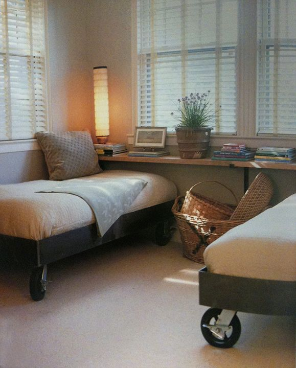 Daybeds-length of twin beds for boy's room