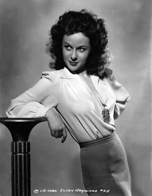 Susan Hayward 1940's