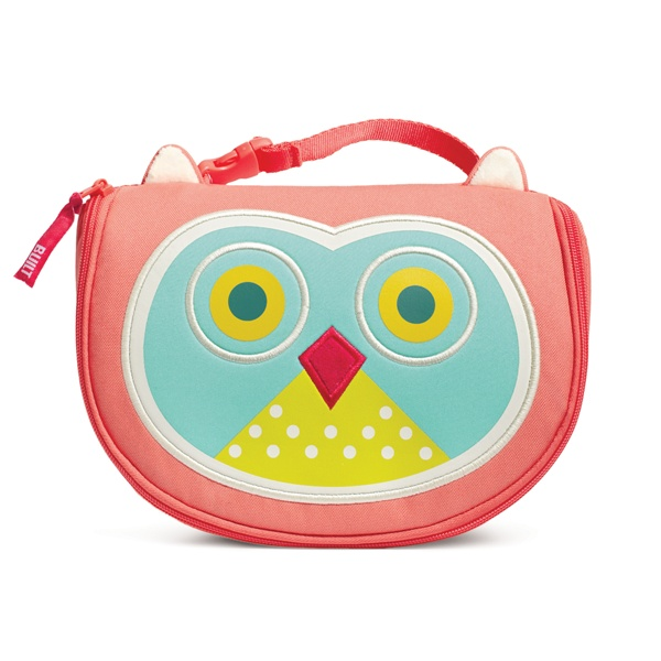 BUILT Buddies Owl Lunch Bag. How cute! They are PVC and BPA free so your kids can nosh stylishly and safely! #Kids #BackToSchool #Built #LunchBags