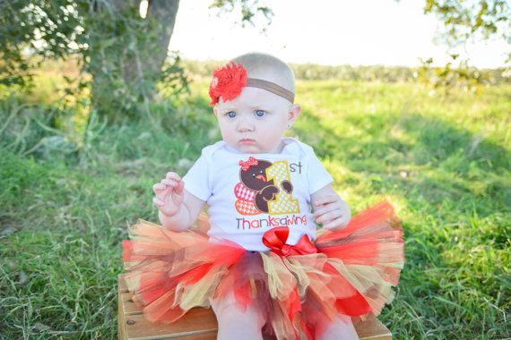 Hey, I found this really awesome Etsy listing at https://www.etsy.com/listing/208704828/1st-thanksgiving-tutu-outfit