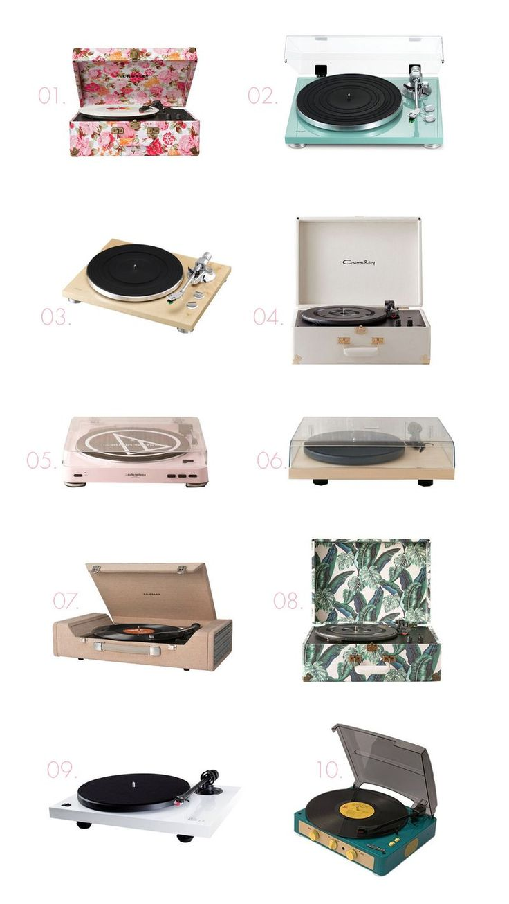 10 Adorable Record Players | A Beautiful Mess | Bloglovin'