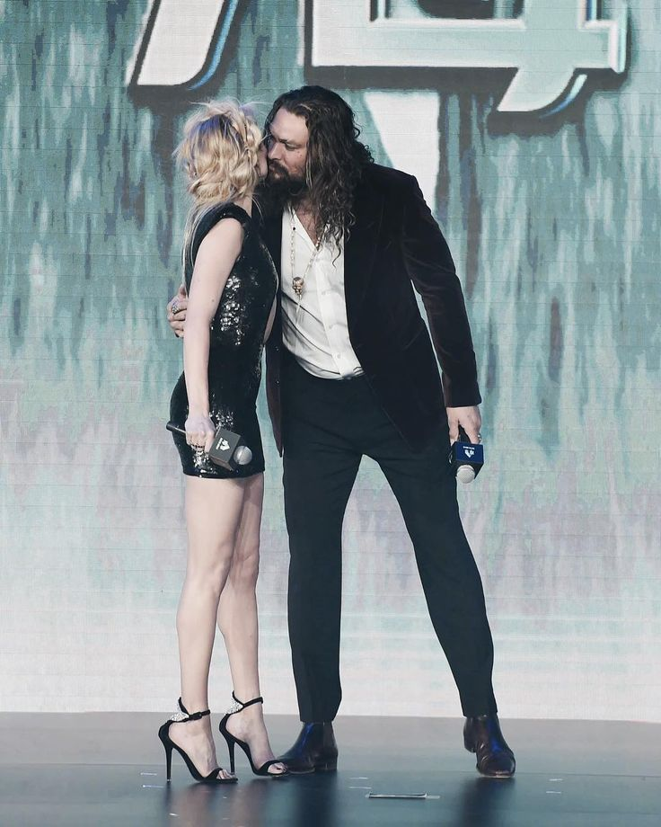 Jason Momoa And Amber Heard @ Aquaman Movie Premiere In
