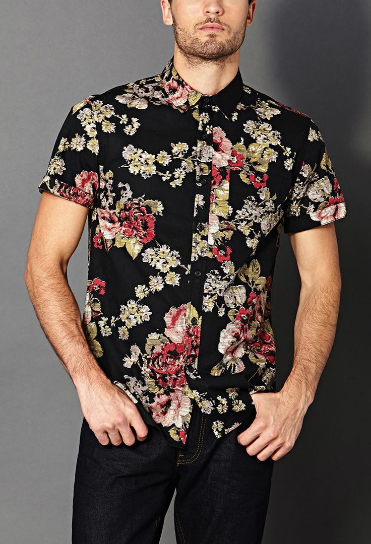 floral shirts for men | Shirts & Polos | 21MEN | Forever 21