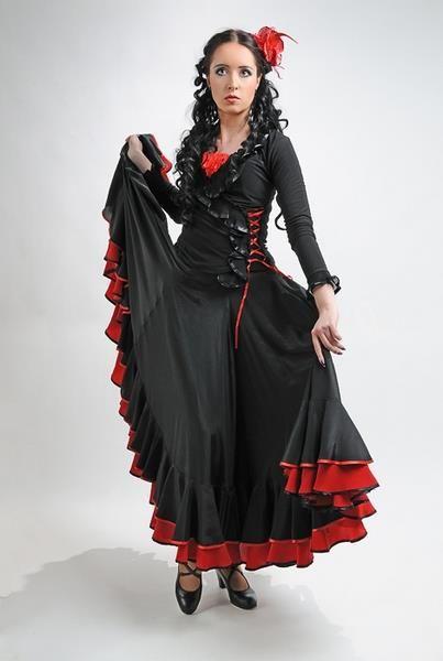 Костюм фламенко фото