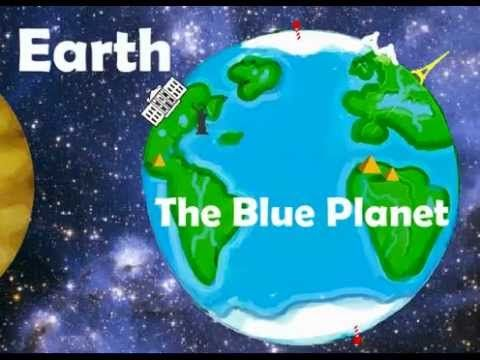 Introduction to the planets song. Kids learn all the planets with a children's science song