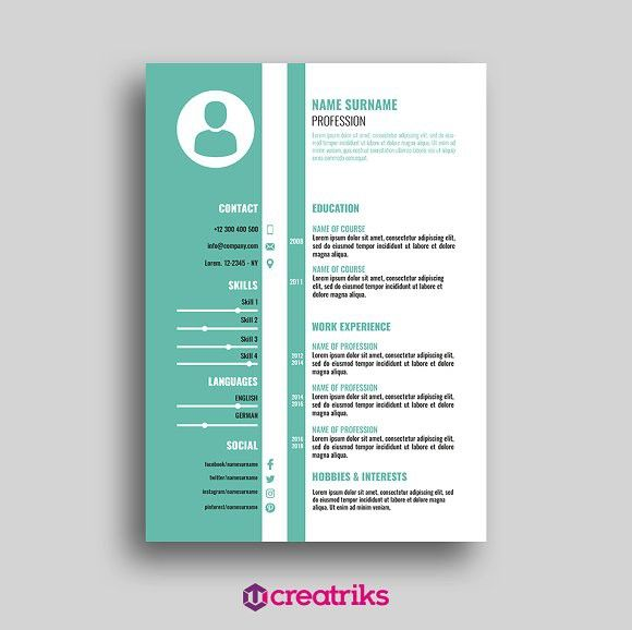Resume CV Perfect Resume Perfect Resume Pinterest Perfect - hobbies and interests on resume
