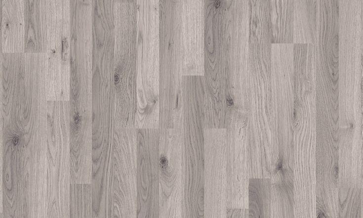 Pavimento in laminato effetto legno ROVERE GRIGIO CLASSICO 3-STRIP by Pergo