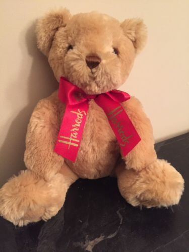 #TeddyBears #Teddy #Bears Harrods Department Store Teddy Bear #TeddyBears #Teddy #Bears
