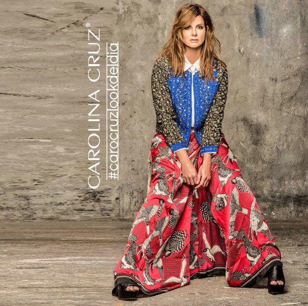 Carolina Cruz Osorio • Look Del Día, zapatos Soul de somos CALZATODO look de rapsodia oficial foto Nukakmakuk Hecho En Colombia • 22/03/2016