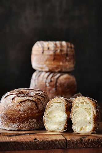 Cronut...basically a donut but with croissant bread! Need to try.