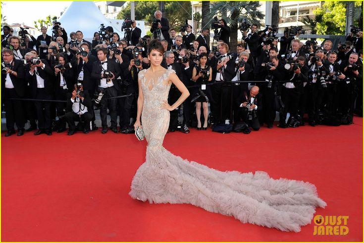 Eva Longoria in Marchesa - 2012 Cannes Film Festival: Cannes2012, Cannes 2012, Cannes Film Festivals, Fashion, Festivals 2012, Dresses, Red Carpets, Marchesa Gowns, Eva Longoria