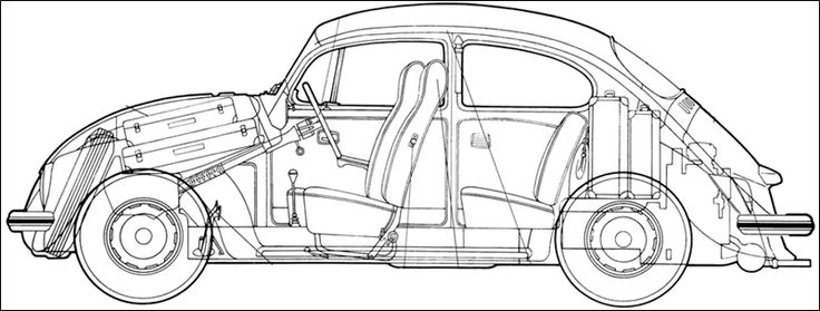 792 best vw beetle drawings images on pinterest