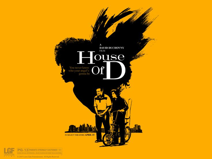 DVD ~ House of D $5.49