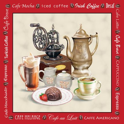"""Café Red"" by Rosiland Solomon"