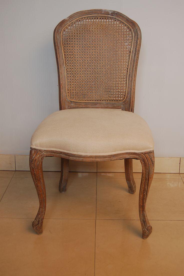 krzesło kolonialne Ludwik XVI