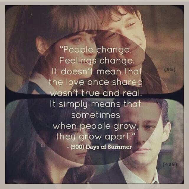 Apart From: 500 Days Of Summer