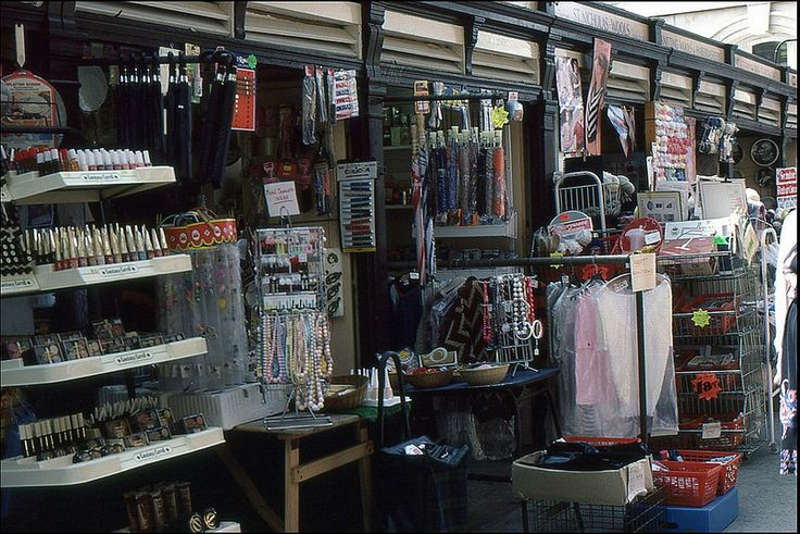 St Nicholas market, Bristol 1985