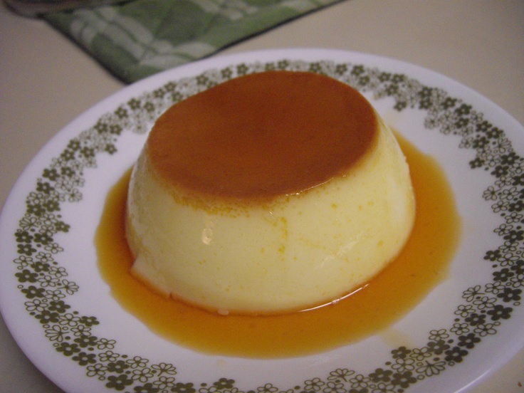 Caramel Custard Pudding | puddings | Pinterest