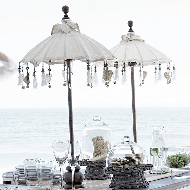 "Lunch by the beach... (beach-inspired table setting) check out my ""Events and Entertaining"" Board on Pinterest..."