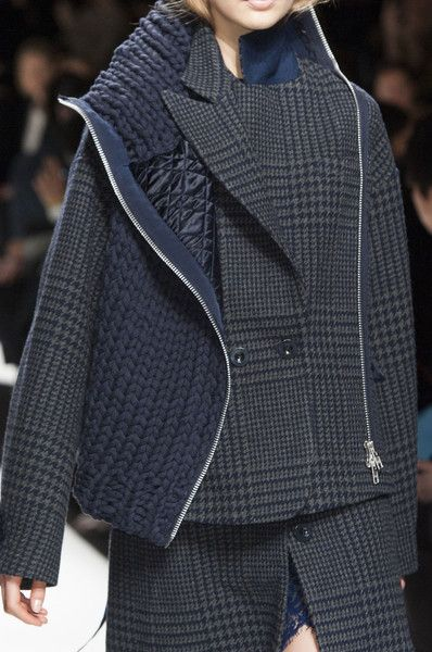 Sacai at Paris Fall 2014 (Details)