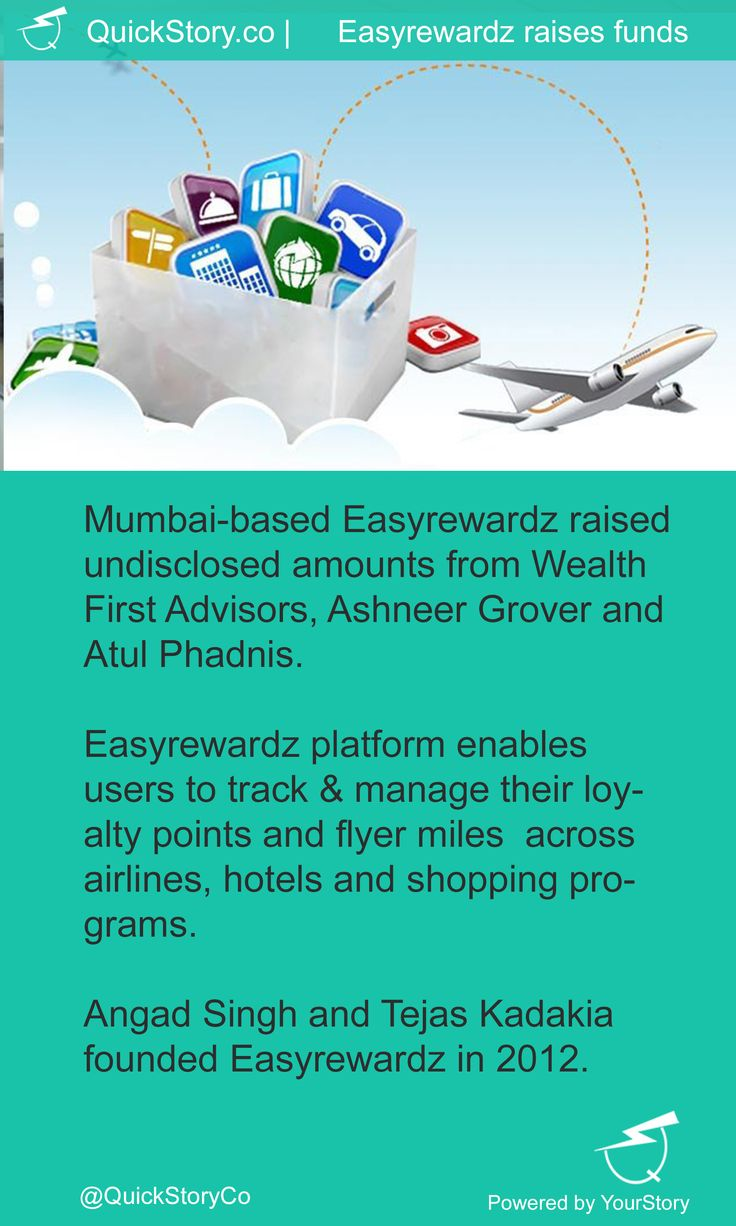 In July 2015, Easyrewardz raised amounts from Wealth First, Ashneer Grover and Atul Phadnis.