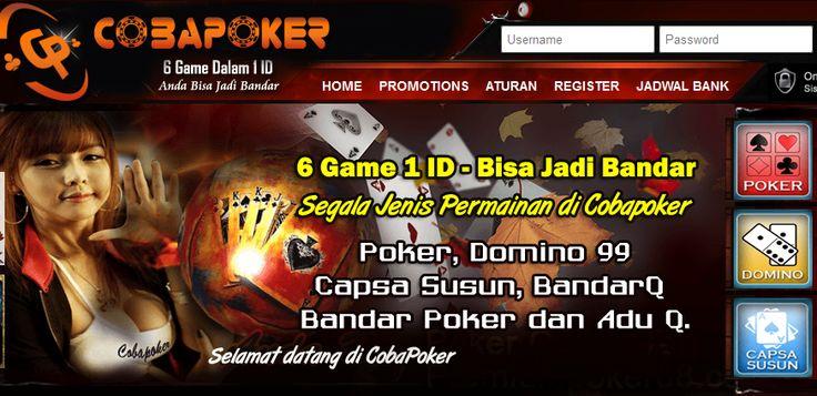 Cobapk Situs Poker Online Uang Asli Terbaru 2017 Terpercaya Indonesia