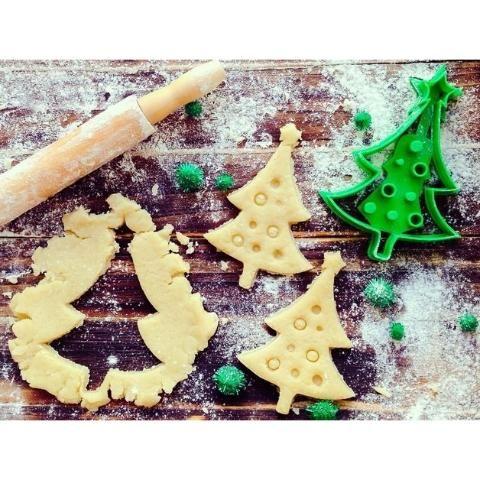 Cortador De Biscoito De Natal - Pinheirinho De Natal - 3d