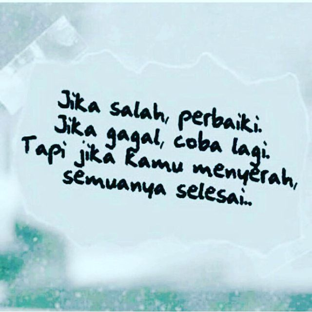 Semua Selesai Jika Kami Menyerah... .  Follow @DokterCinta_  Follow @DokterCinta_  Follow @DokterCinta_  .  اللهم صل على سيدنا محمد و على آل سيدنا محمد .  Like dan Tag 5 Sahabatmu Sebagai Bentuk Dakwah Kita Hari Ini.. .  #Dakwah #Cinta #CintaDakwah #TausiyahCinta #Islam #Muslim #Muslimah #Tausiyah #Muhasabah #PrayForAllMuslim #Love #Indonesia #Quran #AlQuran #KualitasDiri #SahabatMTC  M A J E L I S  T A U S I Y A H  C I N T A   { Dakwah dan Inspirasi }