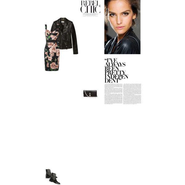 Bez tytułu #87 by izabelmaz on Polyvore featuring moda, Dolce&Gabbana, Yves Saint Laurent and Balenciaga