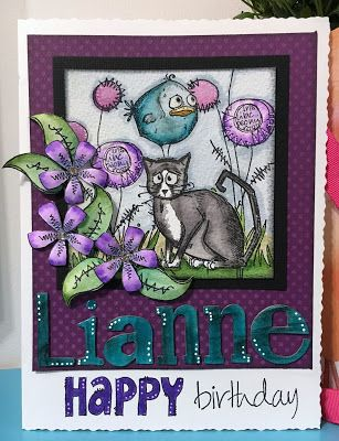 Linda's Cards and Pages: Lianne's Birthday