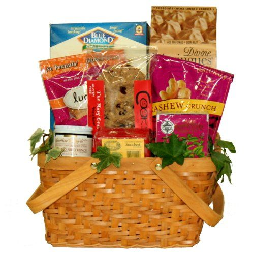 13 best health food gift basket images on pinterest food gifts gluten free for all gourmet tea and snacks gift basket 6995 topseller negle