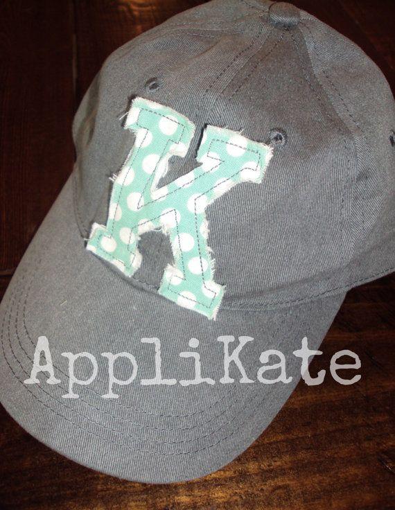 Preppy Personalized Ladies Baseball Cap