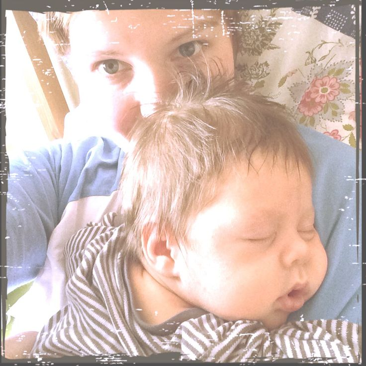 Sleep well on mummy arms